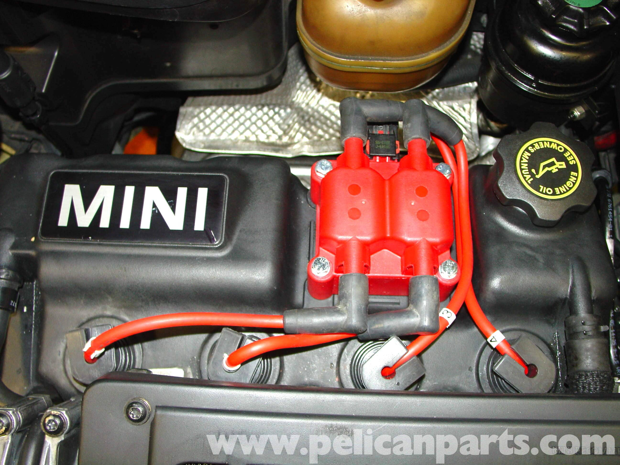 Mini Cooper High Performance Coil Pack Installation R50