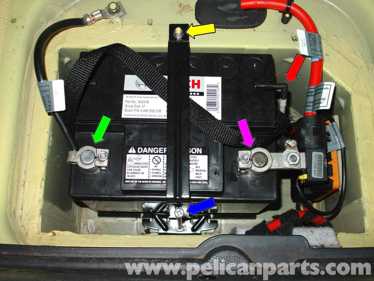 mini cooper battery replacement and battery tender. Black Bedroom Furniture Sets. Home Design Ideas