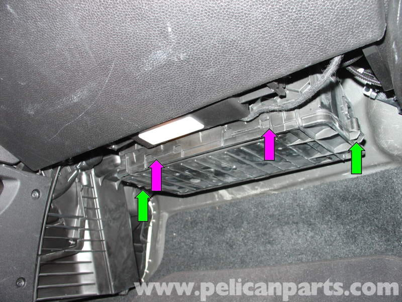 Mini Cooper Cabin Air Filter Replacement R50 R52 R53 2001