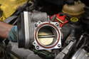 Remove the throttle body; please see our article on throttle body replacement for additional assistance.