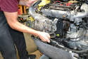 And the supercharger, again please see our article on supercharger removal for step by step instructions.