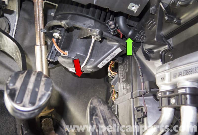 Mini Cooper R56 Blower Motor Replacement 2007 2011