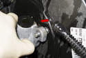 Once you remove the nuts, lift the master cylinder off the brake booster while pulling the lines out, if still inserted.
