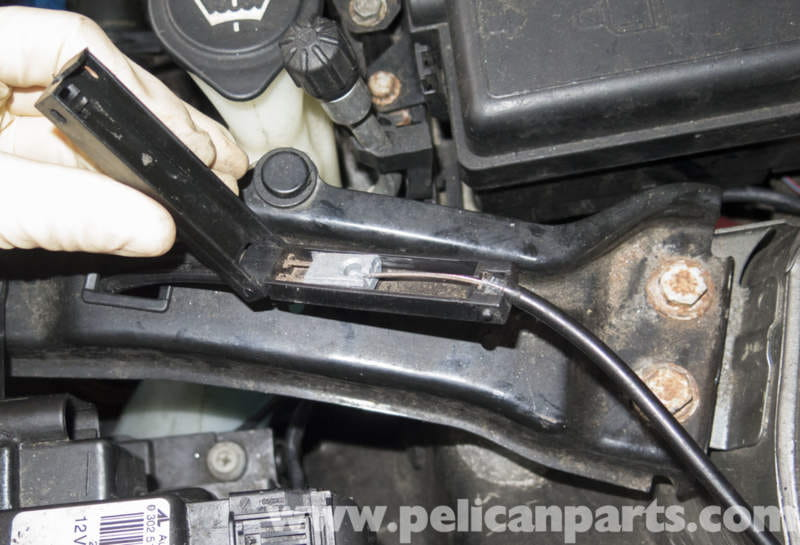 Mini Cooper R56 Hood Release Cable Replacement 2007 2011