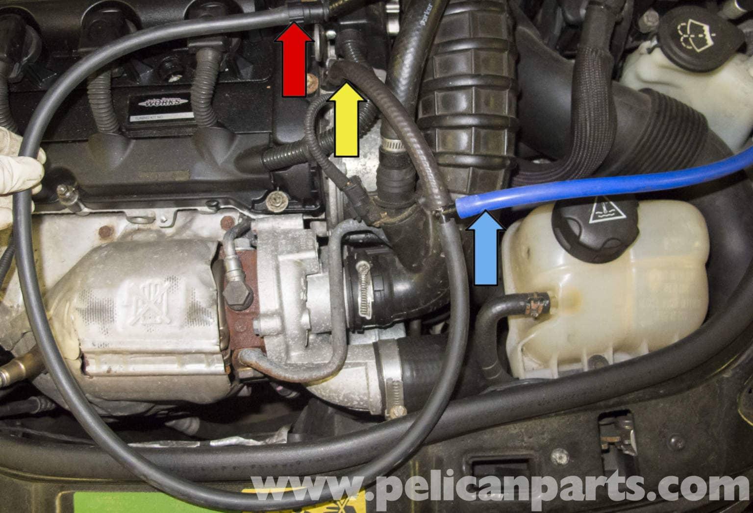 mini r56 vacuum testing r56 cooper 2007 2013 pelican parts diy maintenance article