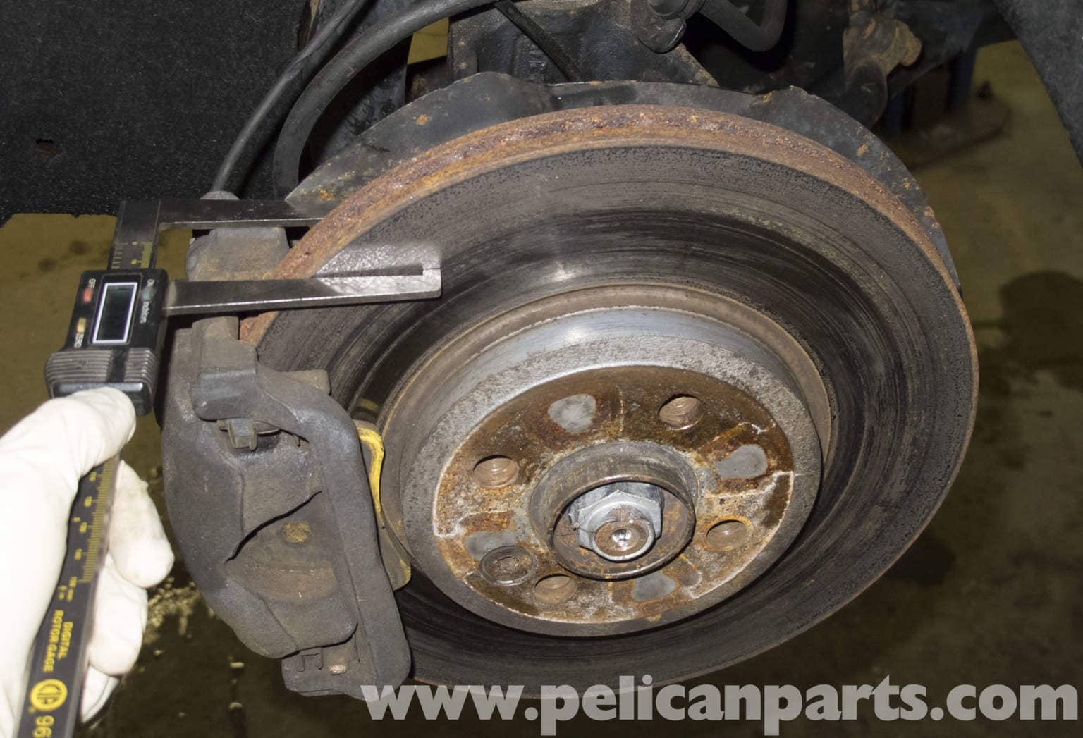 Brake Pad And Rotor Replacement >> MINI Cooper R56 Brake Pad and Rotor Specification Checking (2007-2011) | Pelican Parts DIY ...