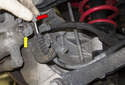 If you suspect a brake cable or caliper is hanging up, prematurely wearing your rear brake pads, remove the cable and check both.