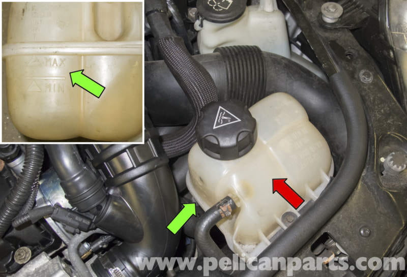 Mini Cooper R56 Draining And Filling Cooling System  2007