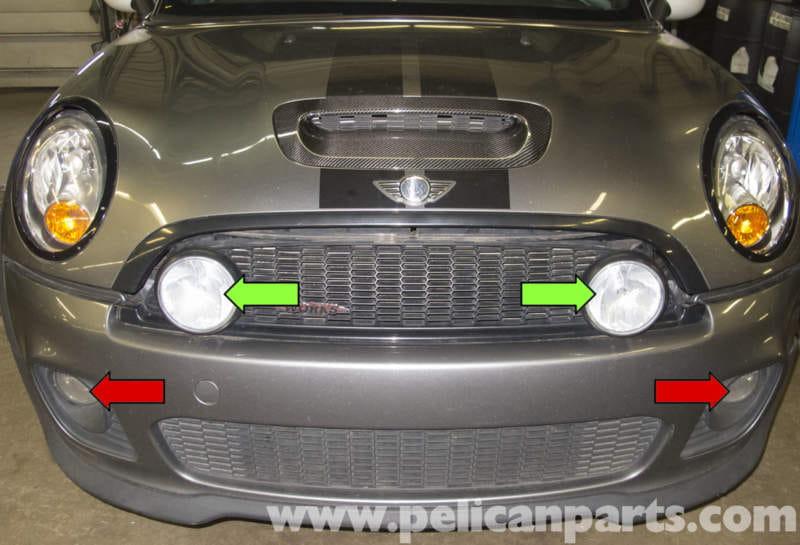 Mini Cooper R56 Fog Light Replacement 2007 2011