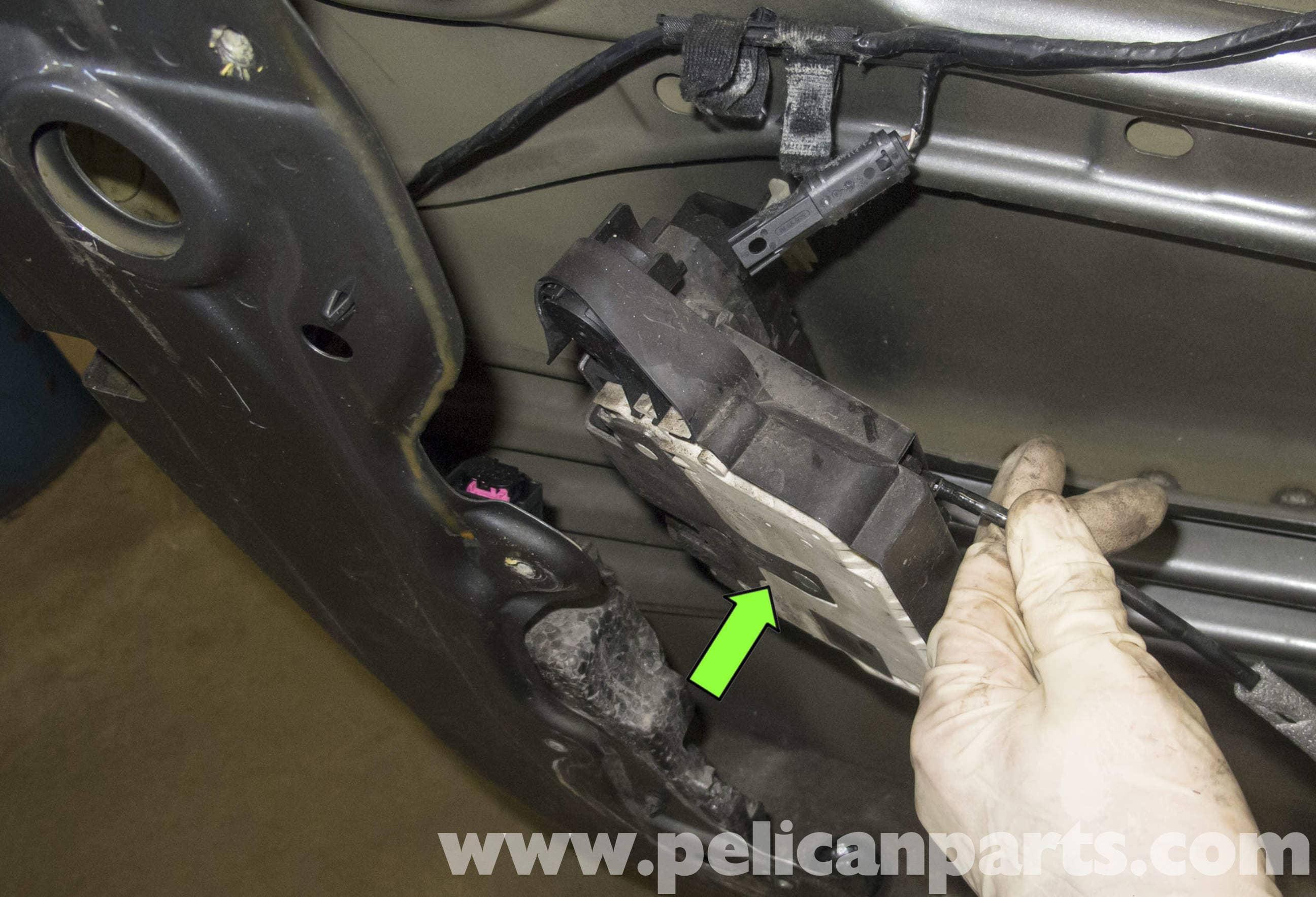 Car Door Latch Stuck