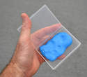 Clay bars are not cheap and they will dry out if you leave them exposed to the air.