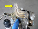 Here is a picture of the inner latch.
