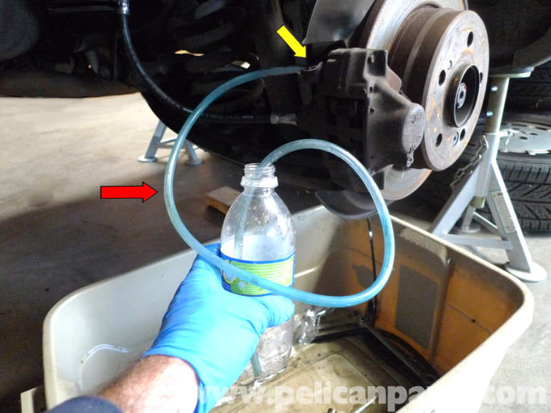 How To Bleed Brakes By Yourself >> Mercedes-Benz 190E Brake Bleeding Procedure   W201 1987-1993   Pelican Parts DIY Maintenance Article
