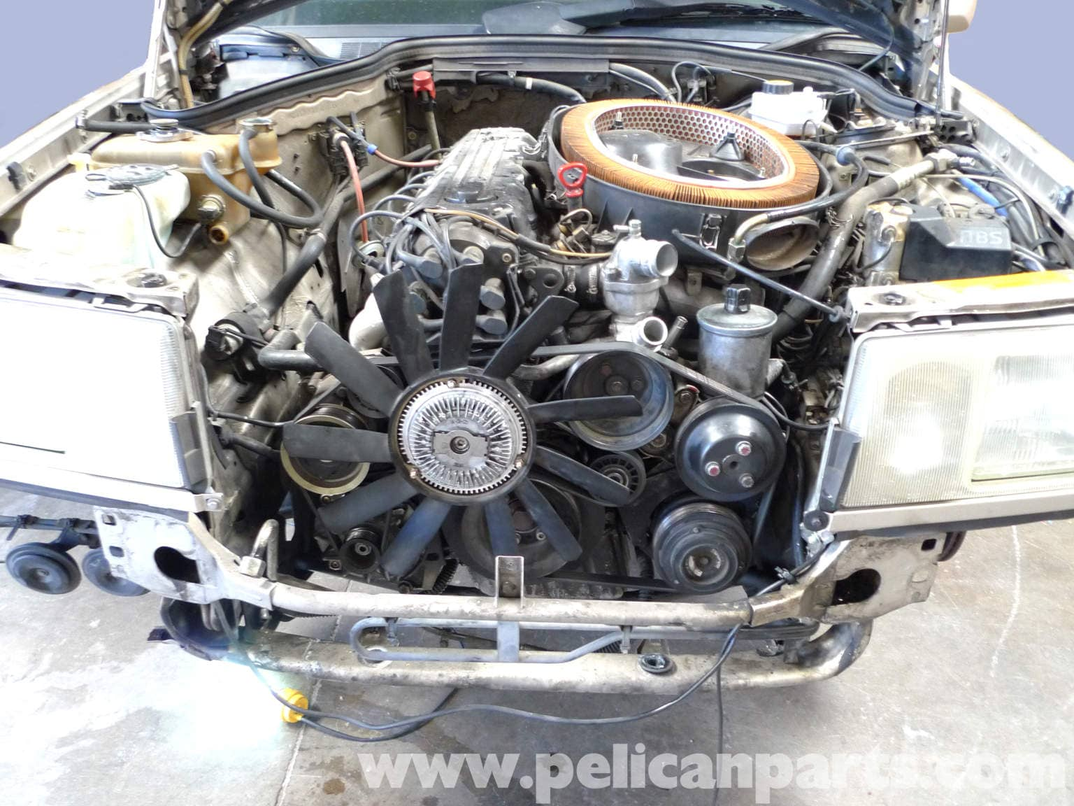 Mercedes Benz 190E Air Conditioning Condenser Replacement W201 1987  #867145