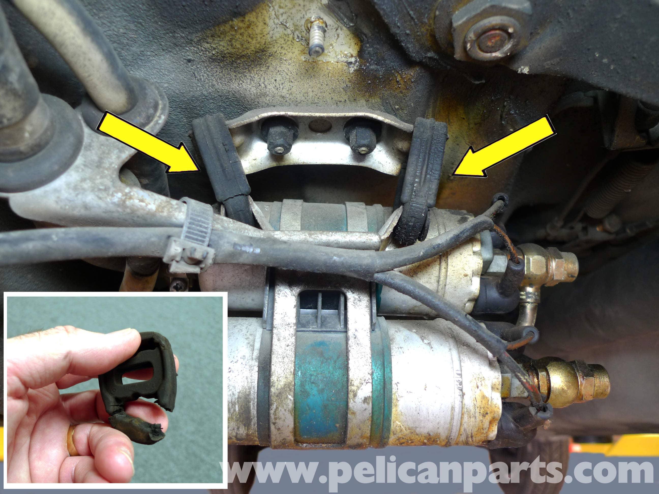 Mercedes Benz 190e Fuel Pump Replacement W201 1987 1993