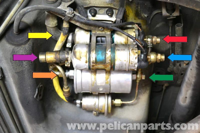 mercedes benz fuel filter 2001 mercedes-benz 190e fuel pump replacement | w201 1987-1993 ... mercedes 190e fuel filter