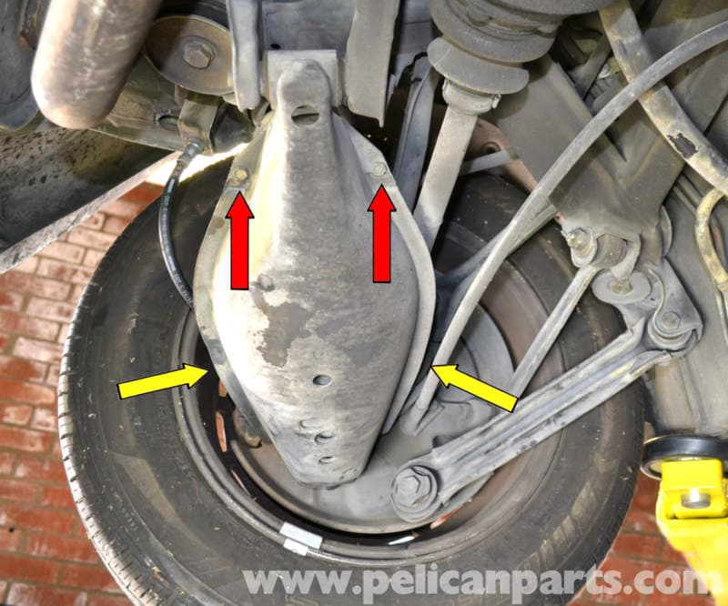When To Replace Shocks And Struts >> Mercedes-Benz 190E Rear Shock Replacement | W201 1987-1993 ...