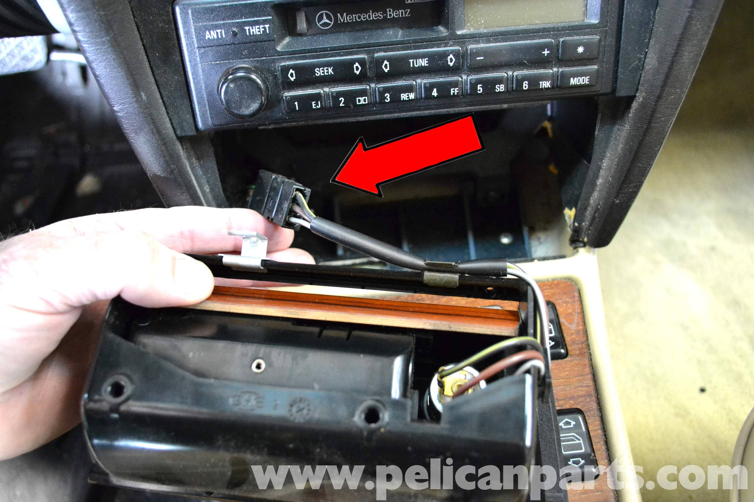 Mercedes Benz 190e Center Console Removal W201 1987 1993