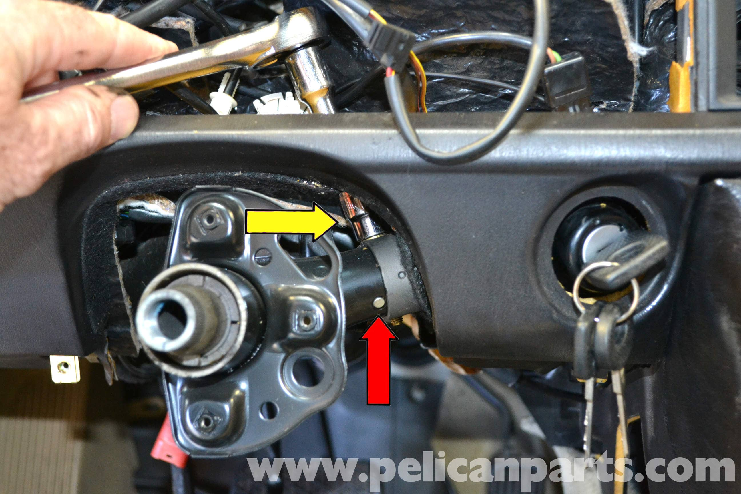 Mercedes Benz 190e Ignition Switch And Lock Replacement