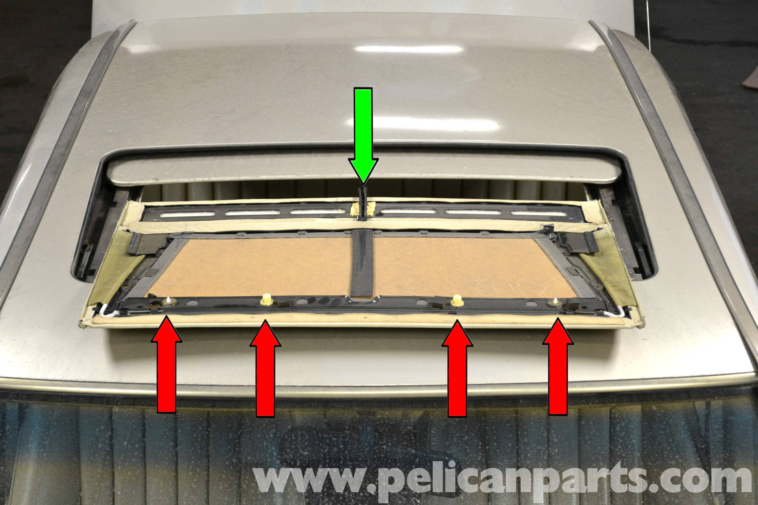 Mercedes Benz 190e Sunroof Panel Removal And Replacement