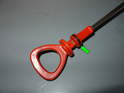An often overlooked vacuum seal is the small O-ring on the dipstick as shown here.