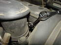 You'll also need to loosen the hose clamp holding the upper intake plenum to the throttle body.