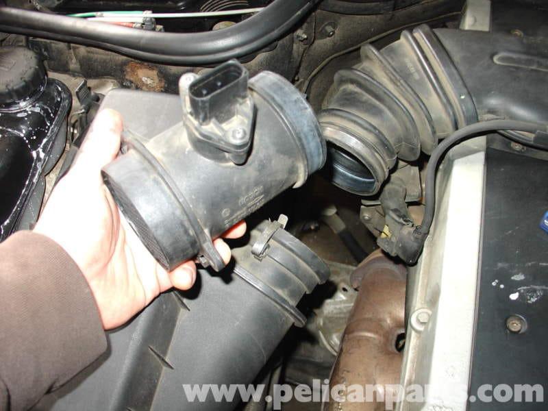 Mercedes Benz W210 Maf Sensor Replacement 1996 03 E320