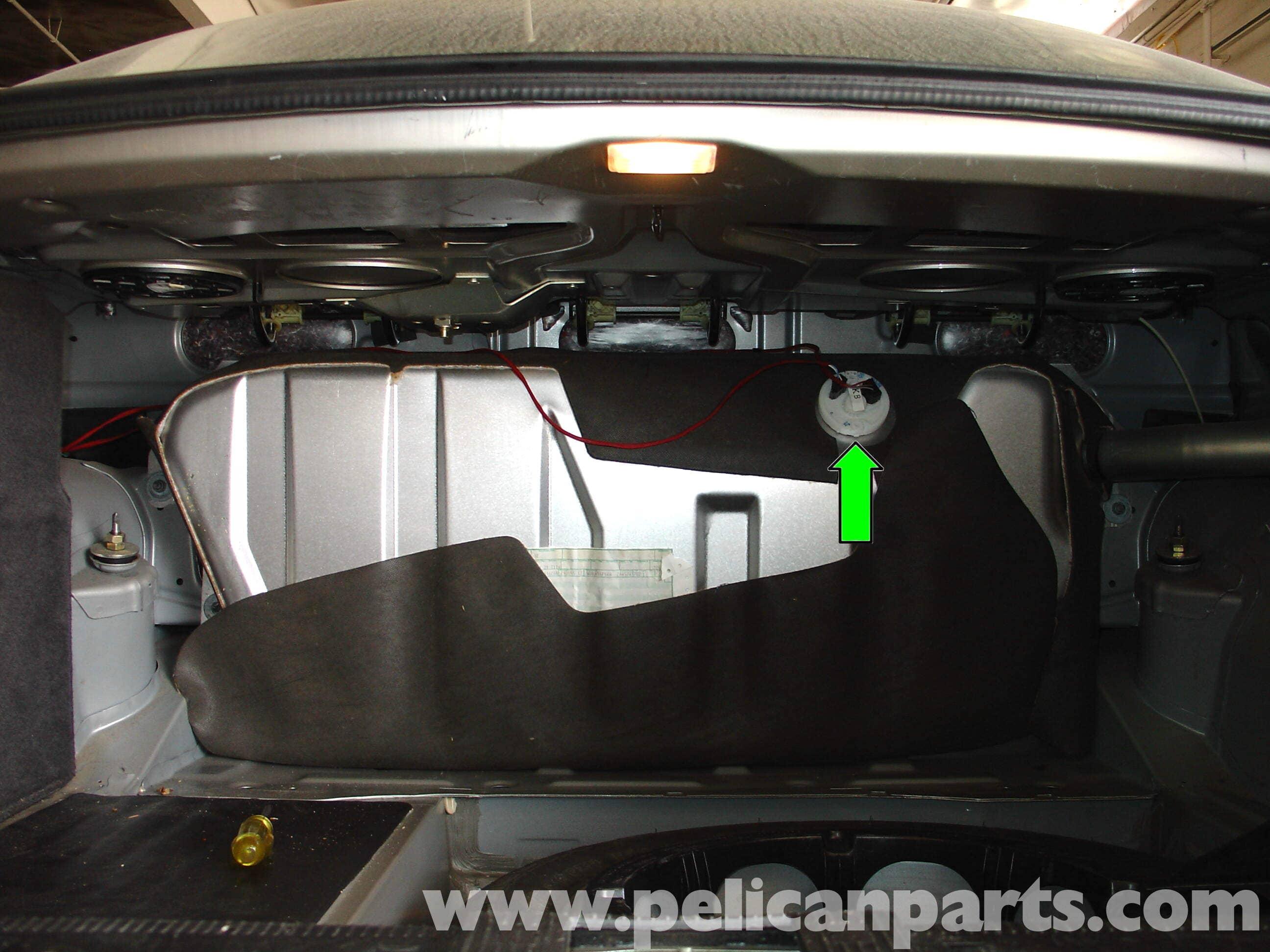 Mercedes Benz W210 Fuel Level Sender Replacement 1996 03