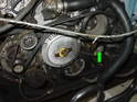 Reinstall either the old or use a new serpentine belt.
