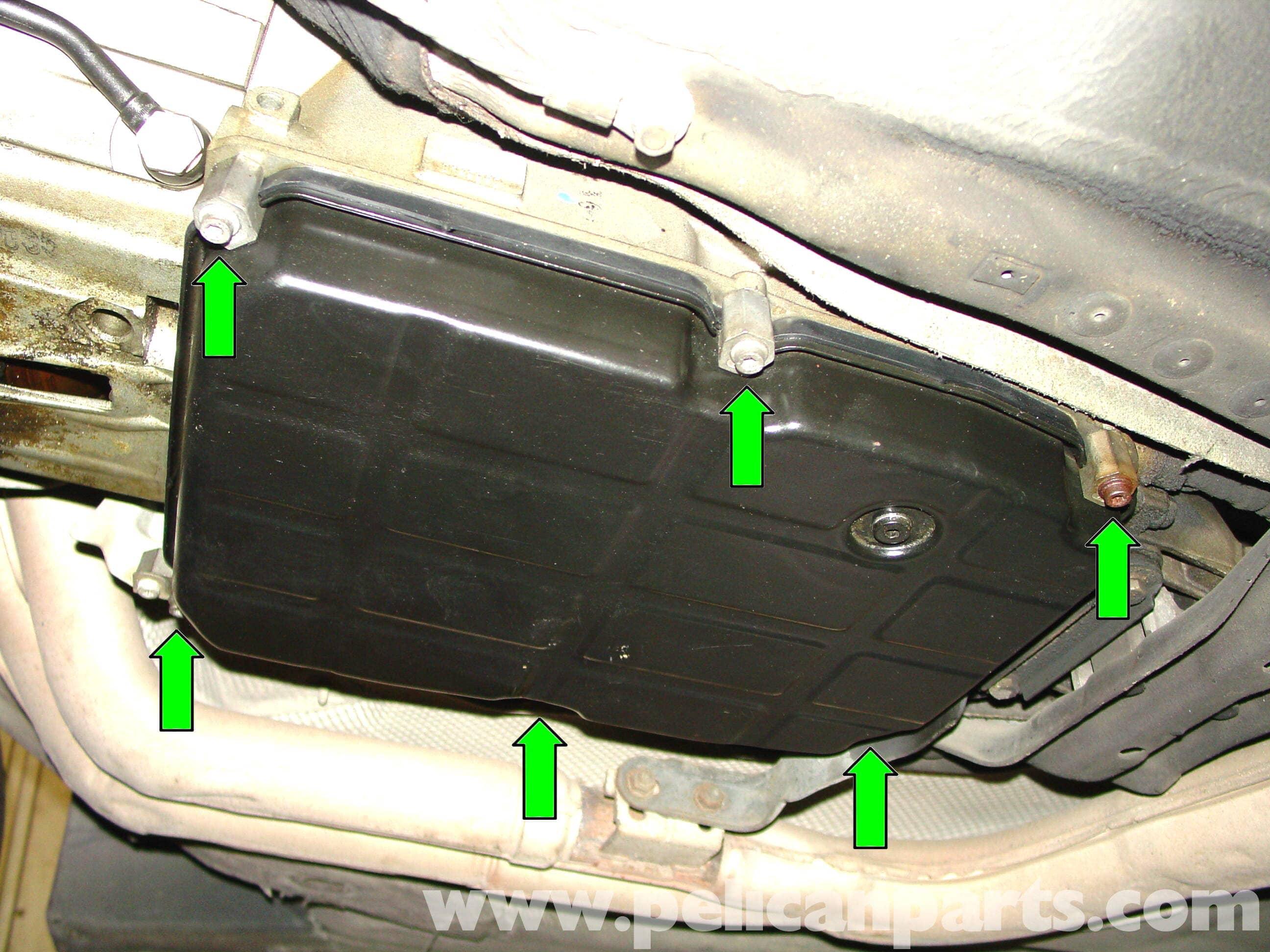 MercedesBenz Automatic Transmission Fluid Change W210 199603