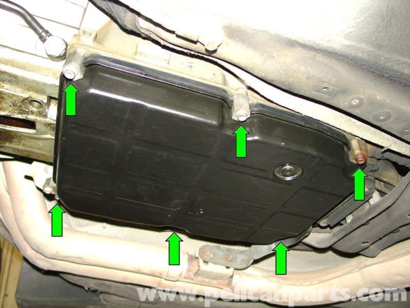 Mercedes Benz Automatic Transmission Fluid Change W210 border=
