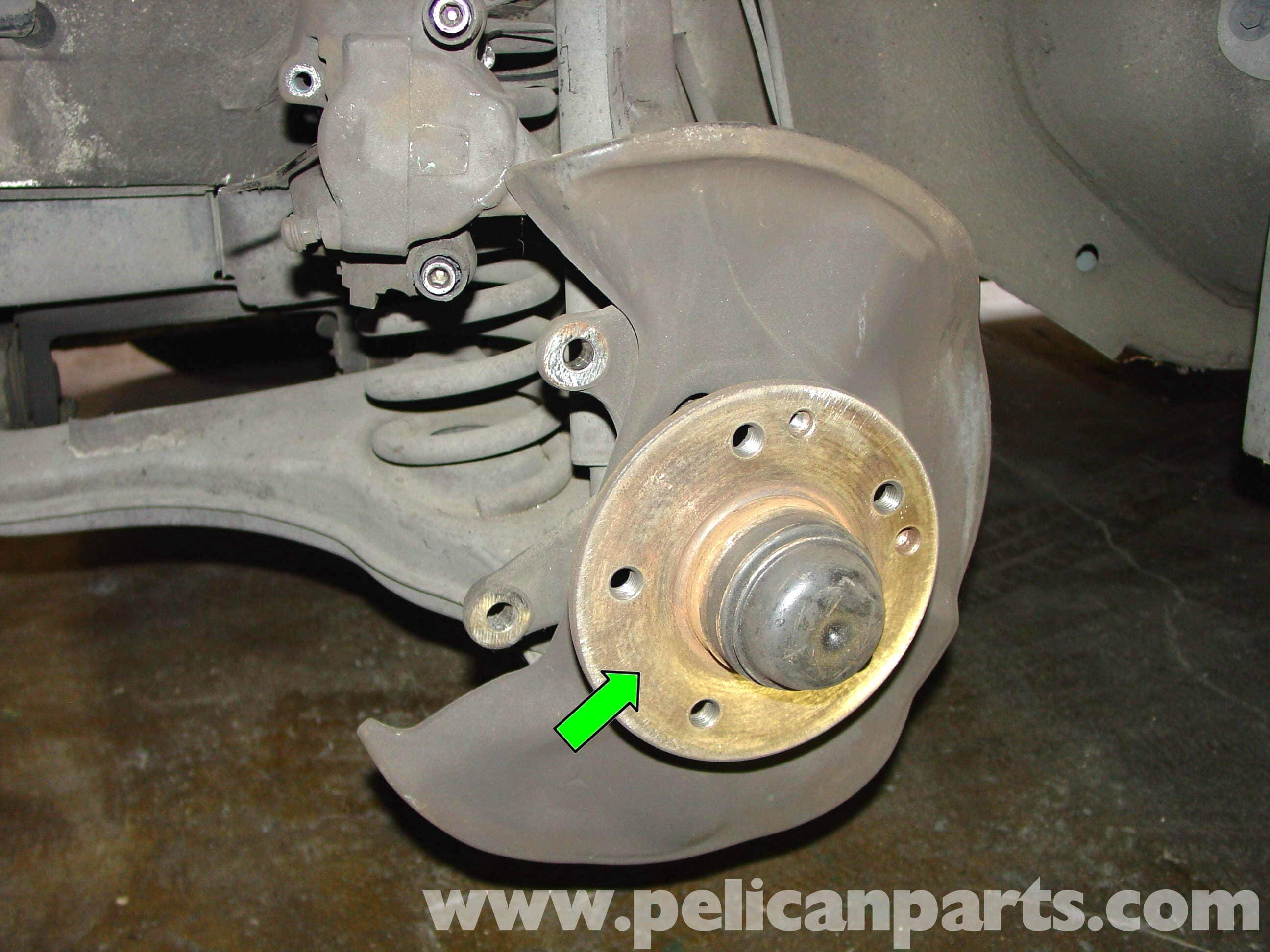 Mercedes benz w210 front brake pad disc replacement 1996 for Replacement parts for mercedes benz