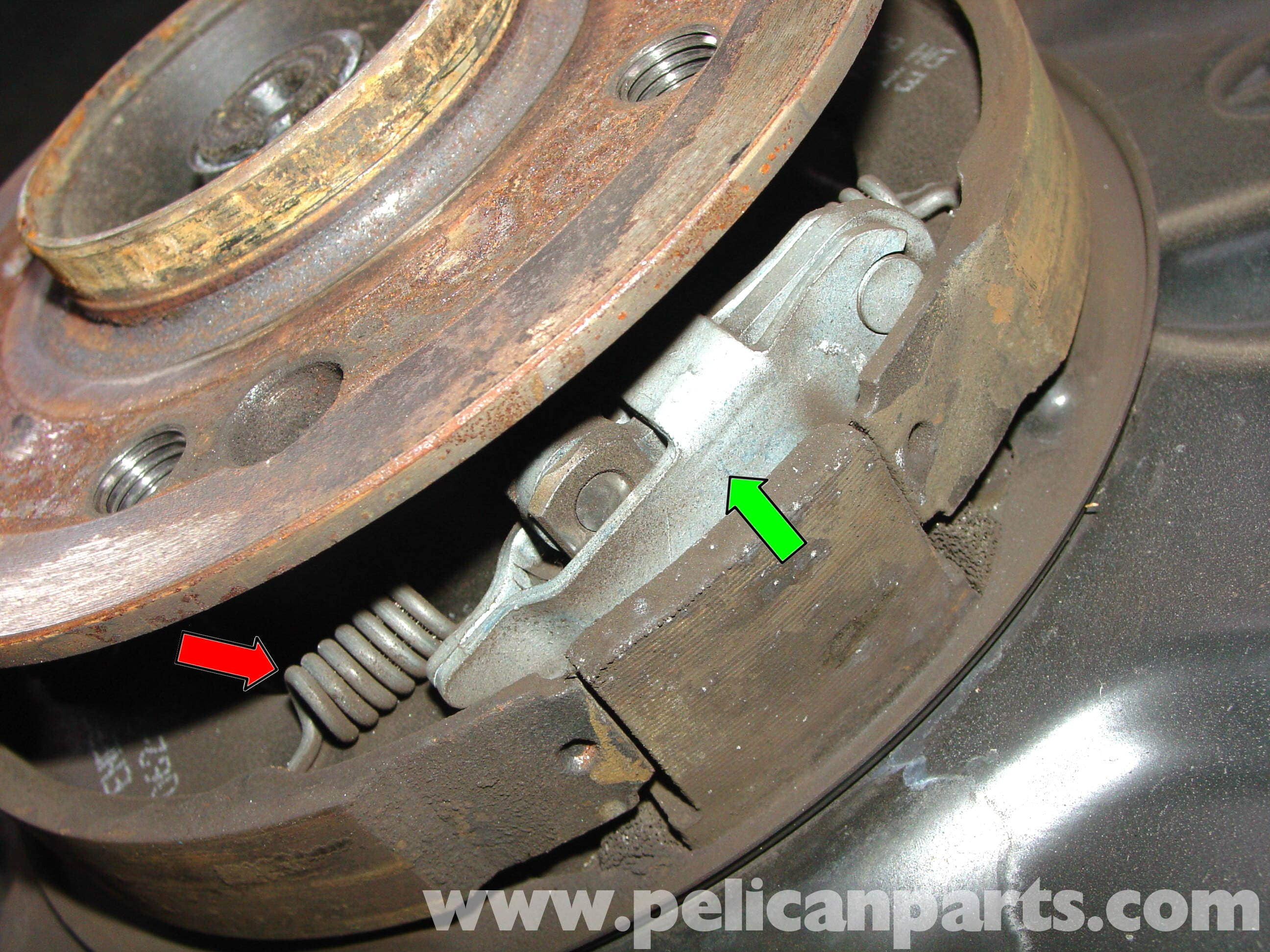 How to adjust handbrake on a 2004 mercedes benz clk class for Parking at mercedes benz superdome