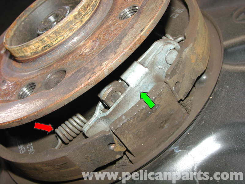 How To Change Parking Brake Shoes Mercedes S Class