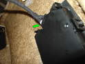 Now look at the backside of the seat adjustment switch.