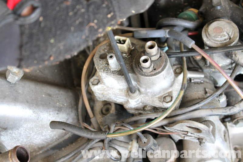 Mercedes Benz R107 Warm Up Regulator Replacement 1972