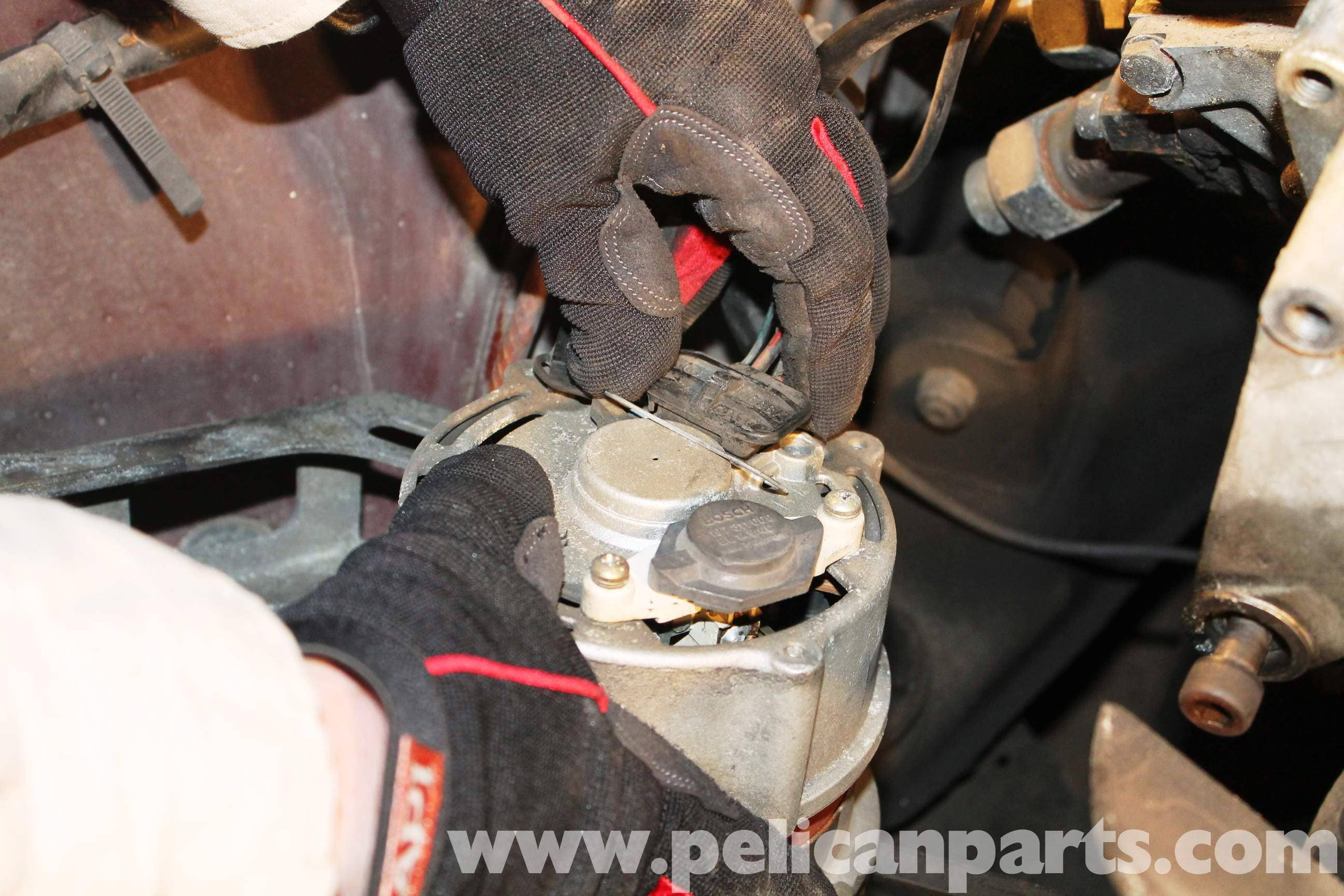 Mercedes benz r107 alternator replacement 1972 1986 for Mercedes benz alternator repair cost