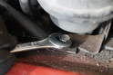 It is also possible to use the opened end of the wrench as well.