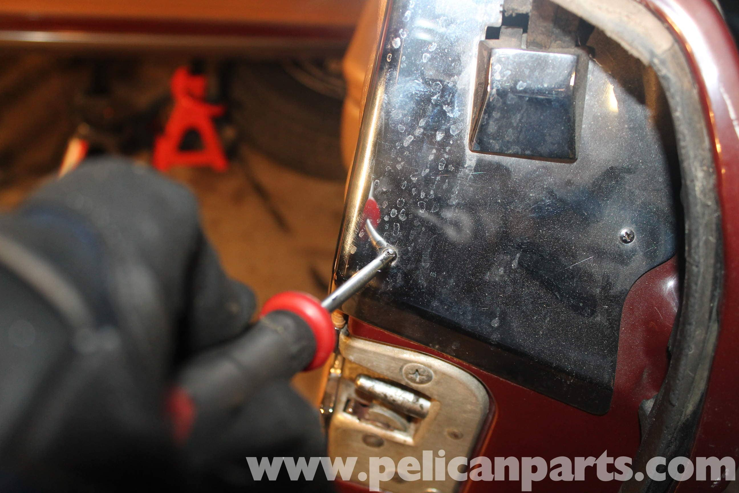 Mercedes Benz R107 Door Panel Removal And Replacement