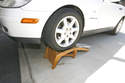 A good set of ramps are also a good option but eliminate any work you can do that involves removing the wheels.