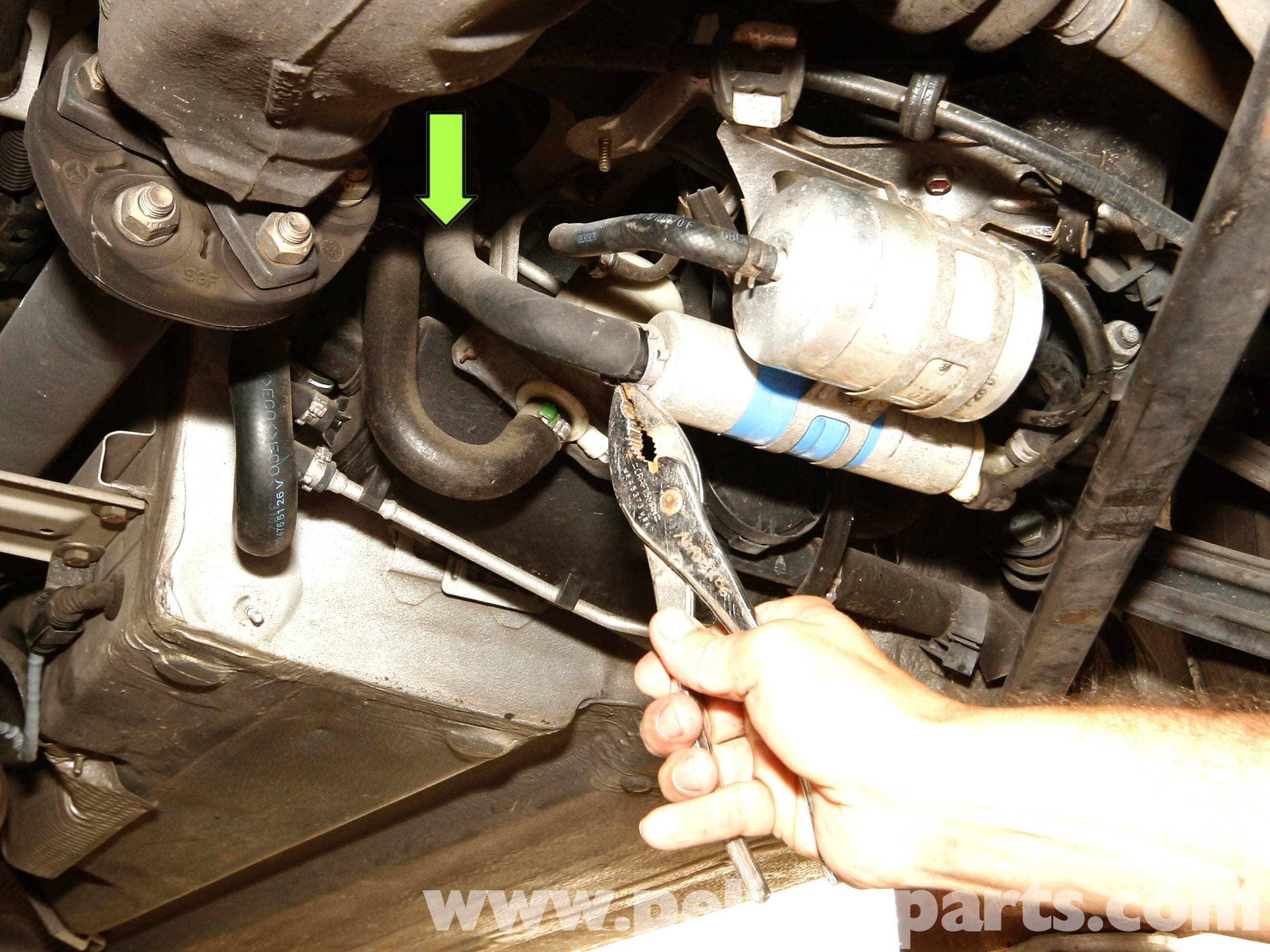 Mercedes-Benz SLK 230 Fuel Pump Replacement | 1998-2004 | Pelican ...