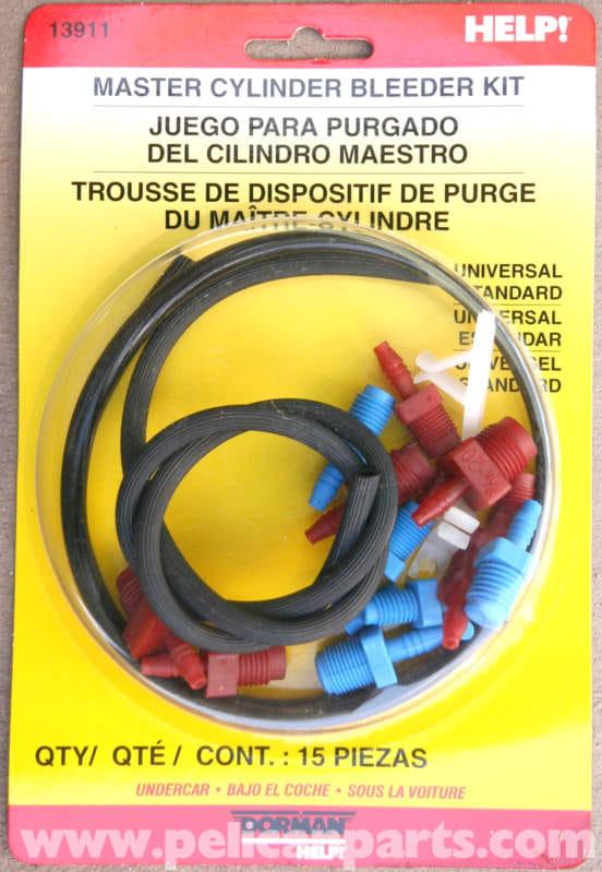 Mercedes Benz Slk 230 Brake Master Cylinder Bench Bleeding 1998 2004 Pelican Parts Diy