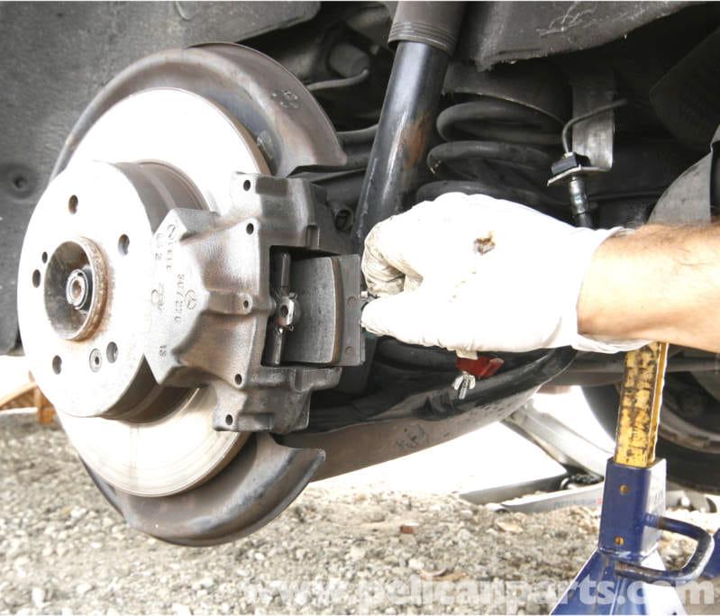 1998 Mercedes Benz Slk Class Suspension: Mercedes-Benz SLK 230 Rear Brake Pad Replacement
