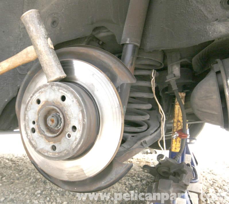 Mercedes benz slk 230 rear brake rotor and caliper for Mercedes benz brake calipers