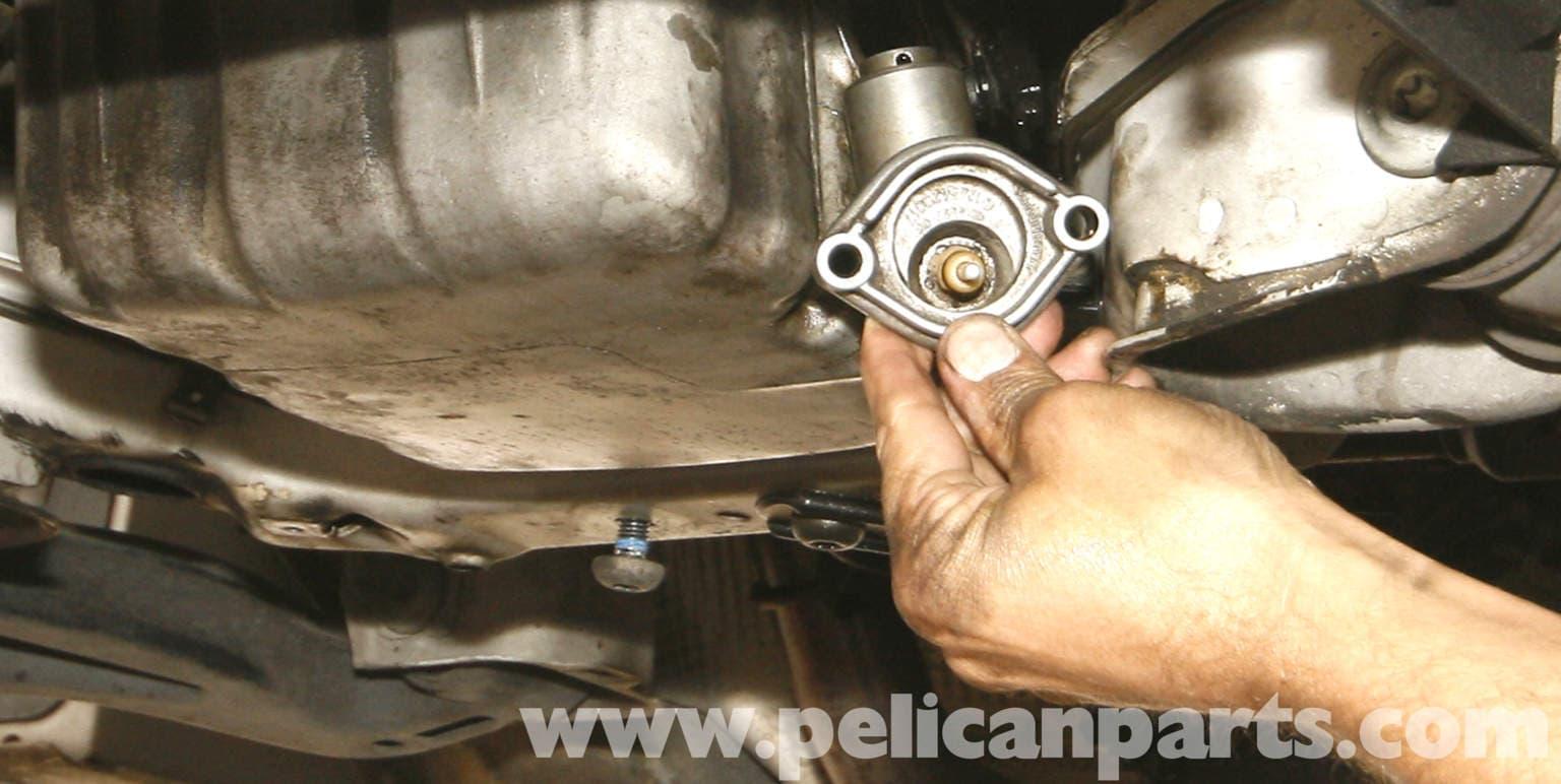 Mercedes benz slk 230 oil level sensor replacement 1998 for Mercedes benz coupons oil change