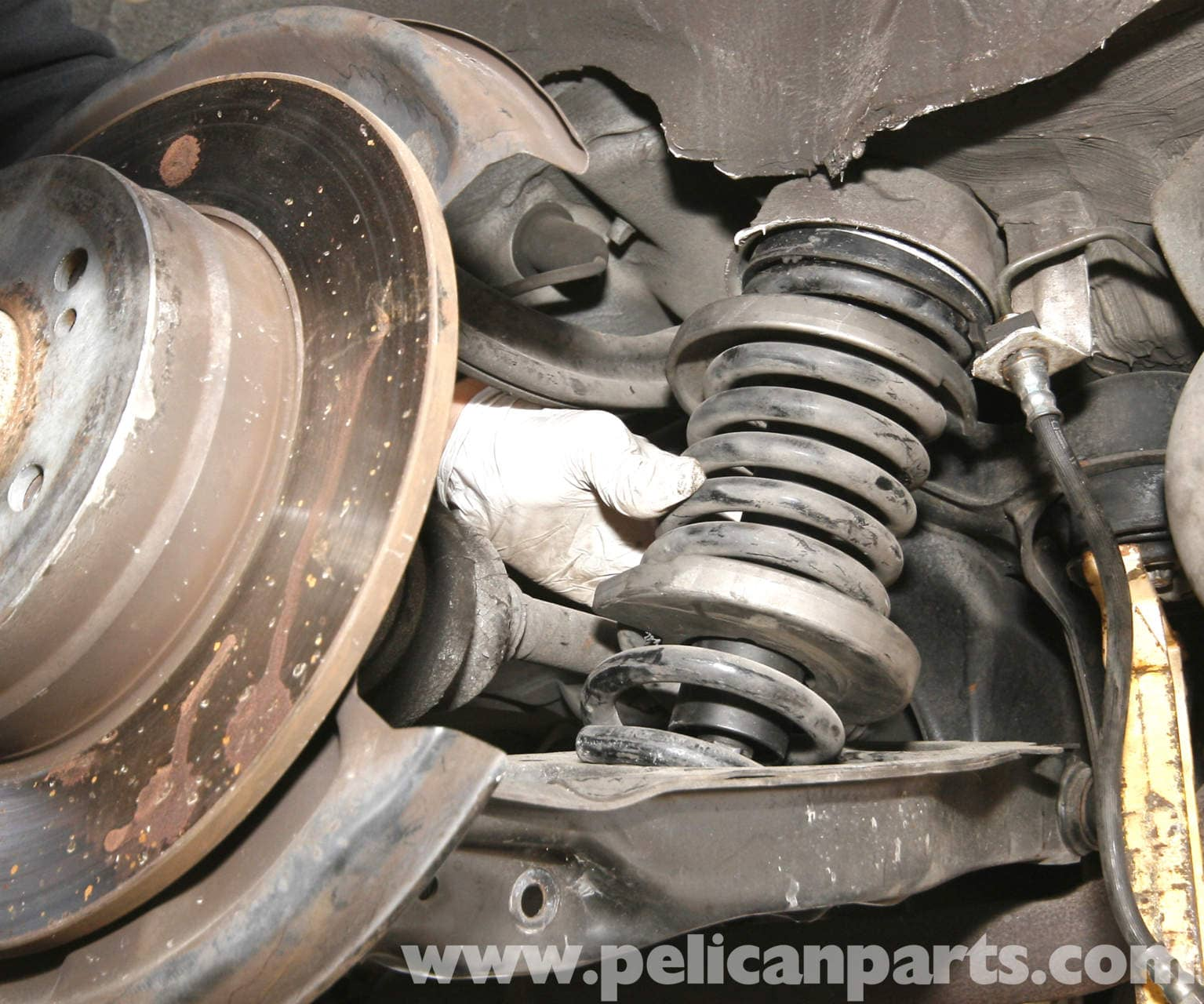 Mercedes Benz Slk 230 Rear Shock And Spring Replacement