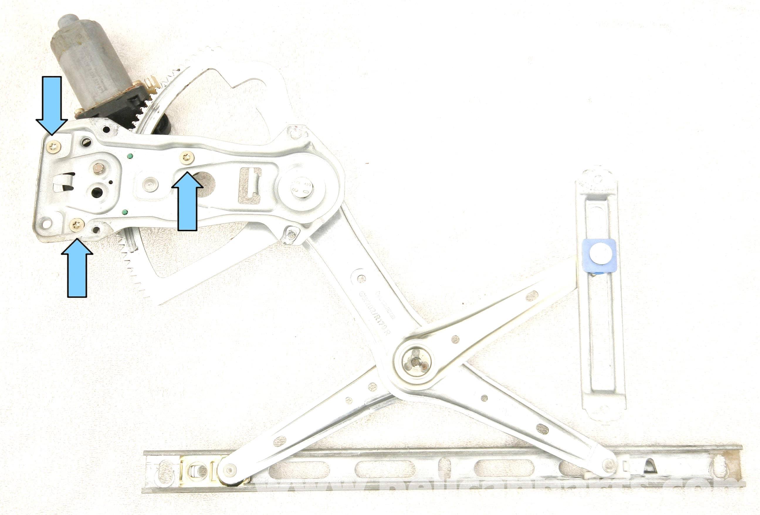 Mercedes benz slk 230 front window motor replacement for Replacement parts for mercedes benz