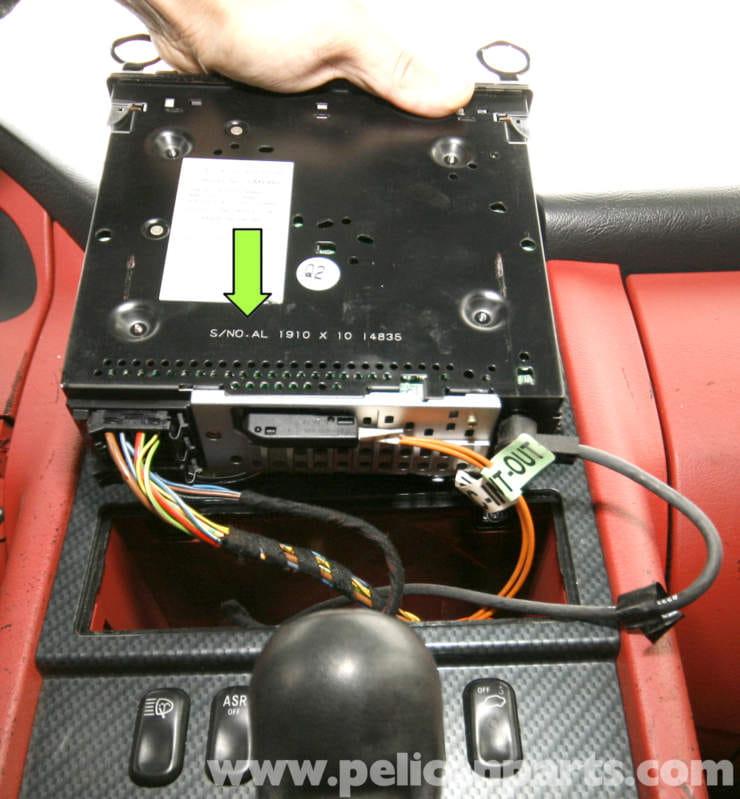 Mercedes-Benz SLK 230 Radio Removal | 1998-2004 | Pelican Parts ...