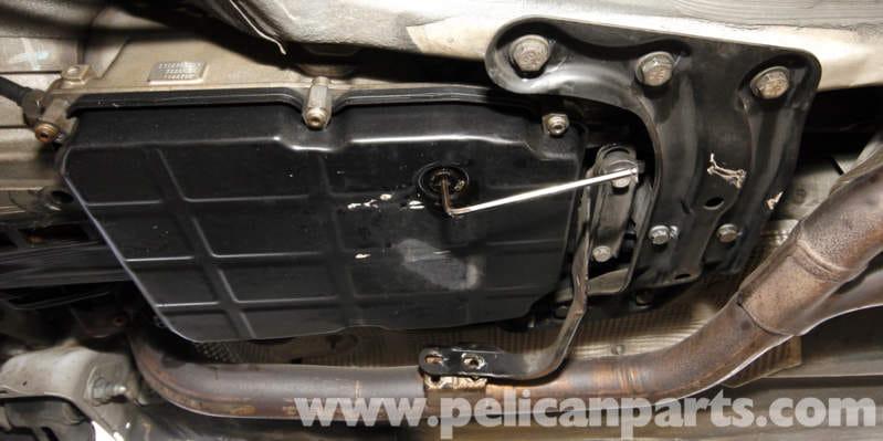 Mercedes benz slk 230 automatic transmission fluid change for Mercedes benz torque converter