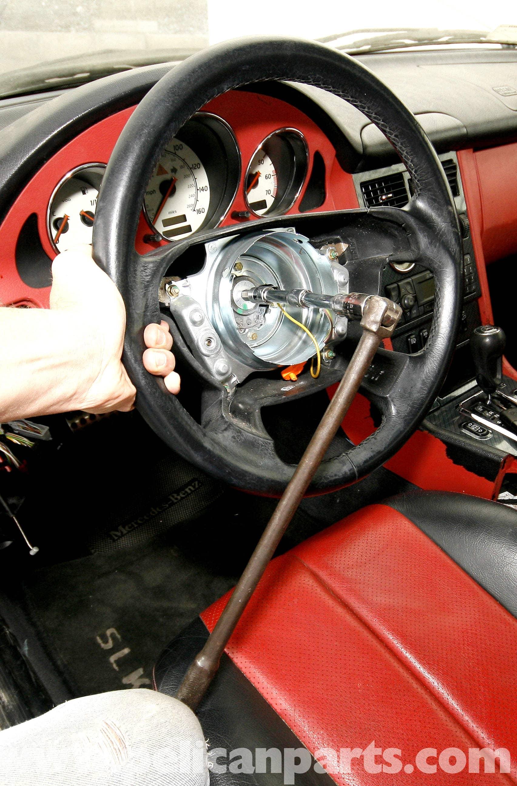Mercedes Benz Slk 230 Instrument Cluster Removal And Bulb